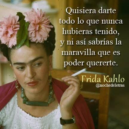 Imagenes Con Las Mejores Frases De Frida Kalho Sobre La Vida Y El Amor