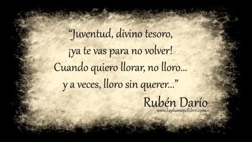 Rubén Darío, el poeta del clave sonoro