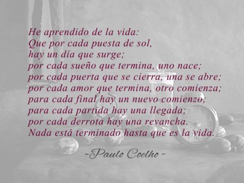Paulo Coelho Frases Poemas Y Libros Memorables