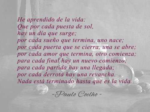 Poesia De Paulo Coelho