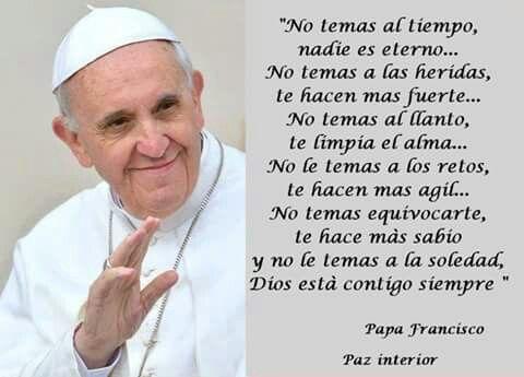 Imágenes Con Frases Del Papa Francisco Para Reflexionar