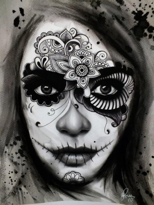 Imagenes De Dia De Muertos Con Frases Calaveras Y Dibujos