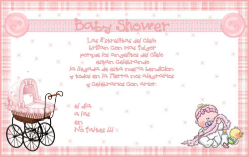 Mensajes Para Invitaciones De Baby Shower En Espanol