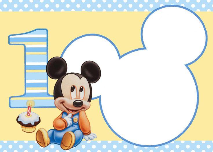 Tarjeta de cumpleanos mickey mouse gratis