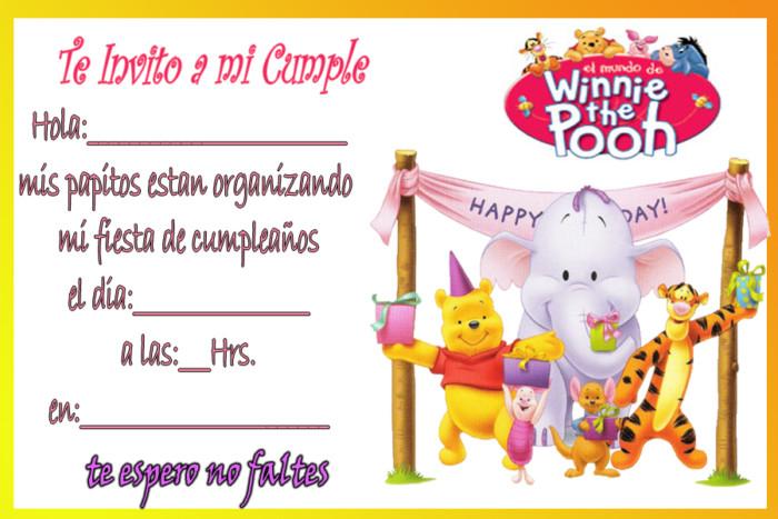Invitaciones De Cumpleaños Para Niños Y Niñas Con Frases Lindas