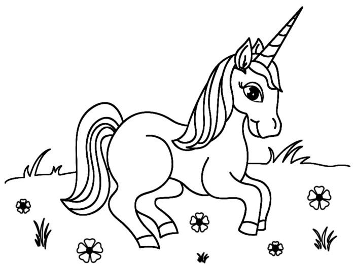 Imágenes De Unicornios Animados Kawaii Con Frases Para Colorear