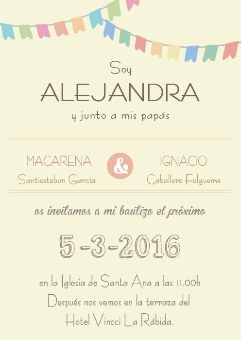 Invitaciones De Bautizo Para Niño Y Niña Bonitas Y Originales