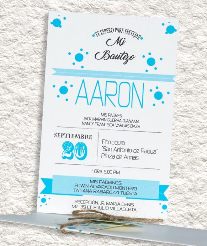 Ejemplos De Invitaciones De Bautizo En Espanol Wpart Co