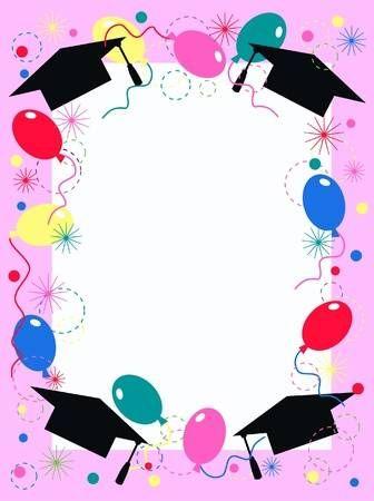 Invitaciones De Graduación Tarjetas Para Descargar E